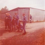 1 peloton descoubes compagnie colin 11cie pau octobre 1976