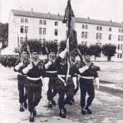 1969 garde au drapeau