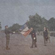 8-  Lt-Col Fourcade 14 juillet 1955