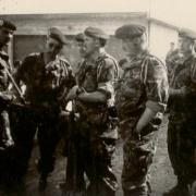9- Caserne Bosquet Mai 1956 Decker à droite suis 2eme à gauche