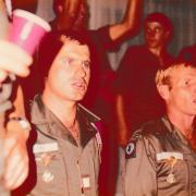 3 Cne Fabre à gauche et Adj Chevallier