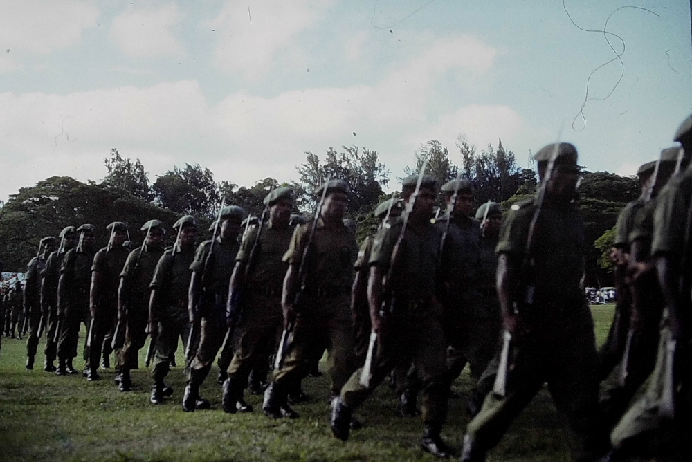 Militaire Papous