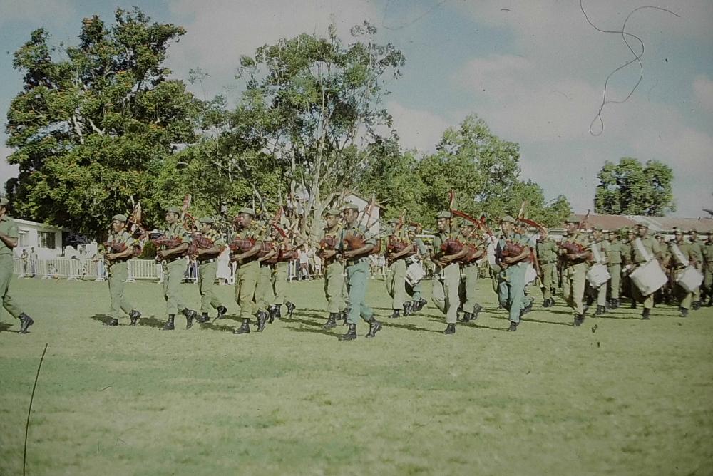 Musique de l'armée Papous