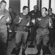 Passation commandement 11° Cie Cne Banon, Durel et Cne Champy CA