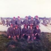 Peloton descoubes compagnie colin 11cie pau octobre 1976