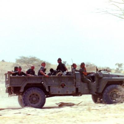 EPERVIER TCHAD 1987-1988