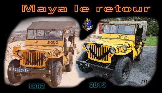 Maya le retour