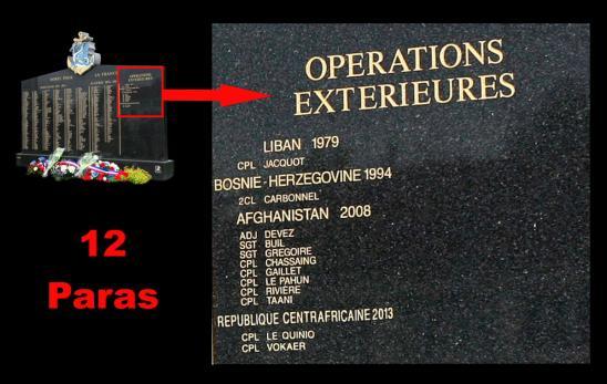 Operations exterieures